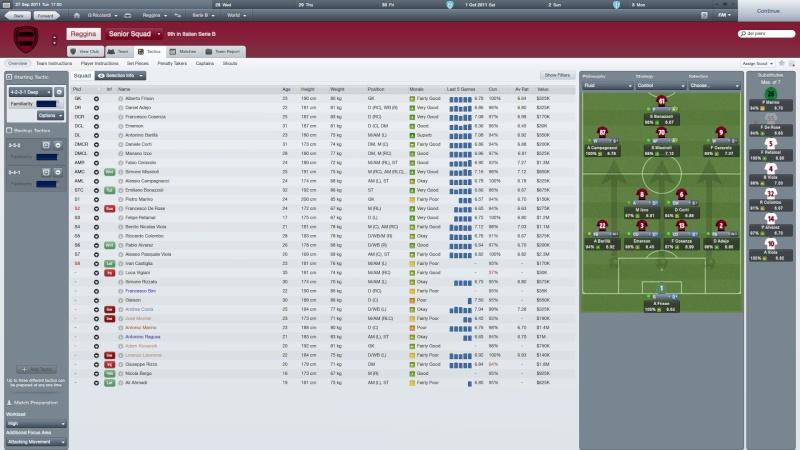 GoalLegacy FM12 league - Hamachi Reggin10