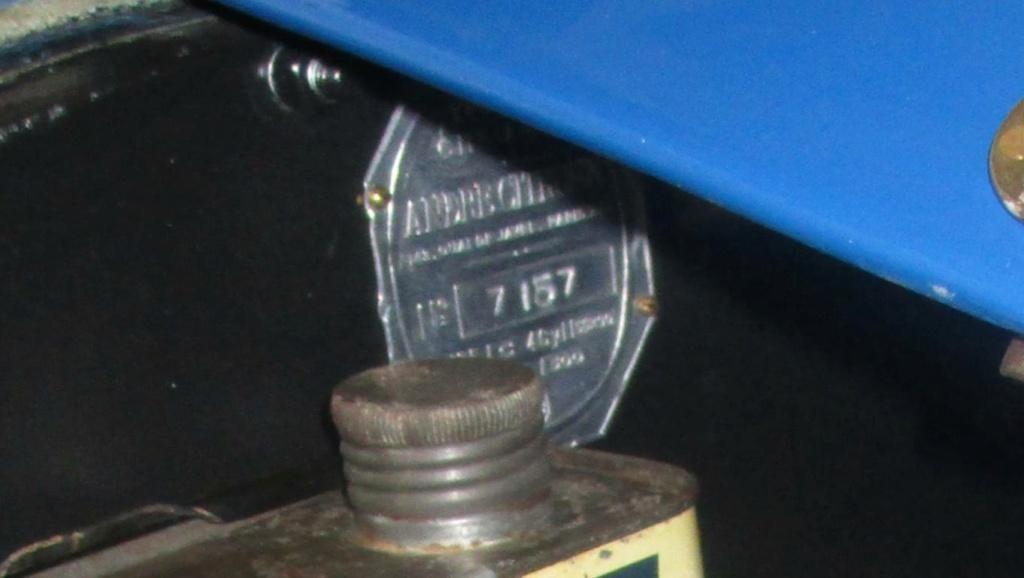 VEND MA 5HP Plaque17