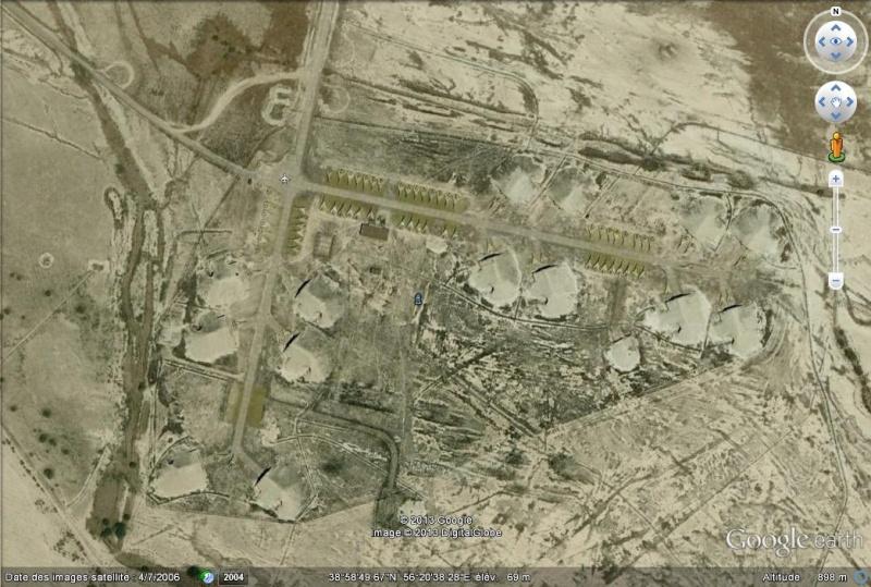 Ancienne base aérienne soviétique de Kzyl-Arvat (Turkménistan) Ksyl-a10