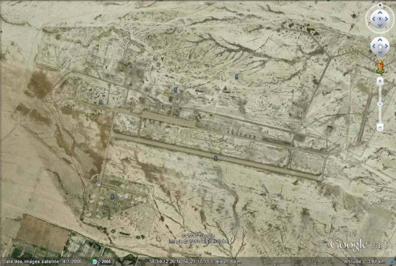 Ancienne base aérienne soviétique de Kzyl-Arvat (Turkménistan) Kzyl-a10