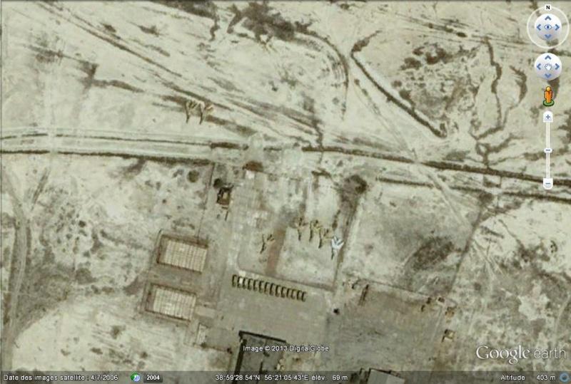 Ancienne base aérienne soviétique de Kzyl-Arvat (Turkménistan) Kzyl-a11