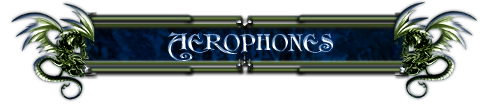 Signature Aerophones. Aeropo12