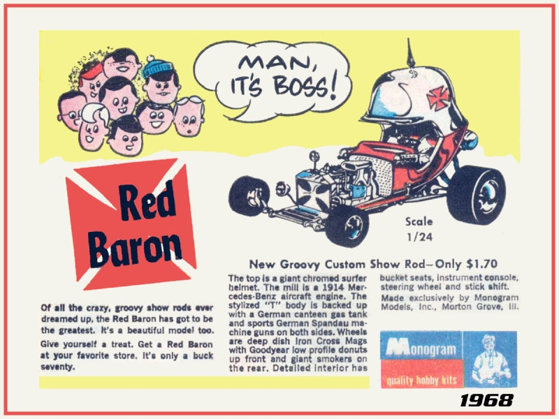 The Red Baron - Tom Daniels , Chuck Miller Monogr10