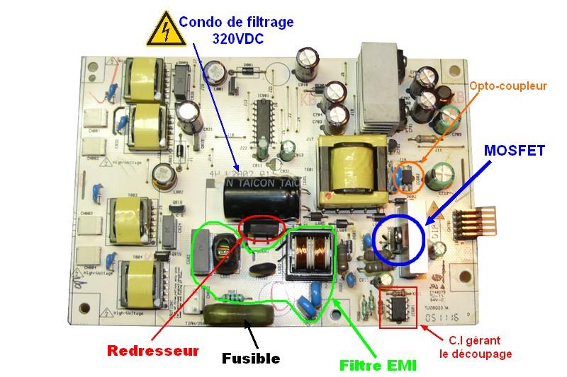 Réparation Ecran LCD d'ordinateur Carte_11