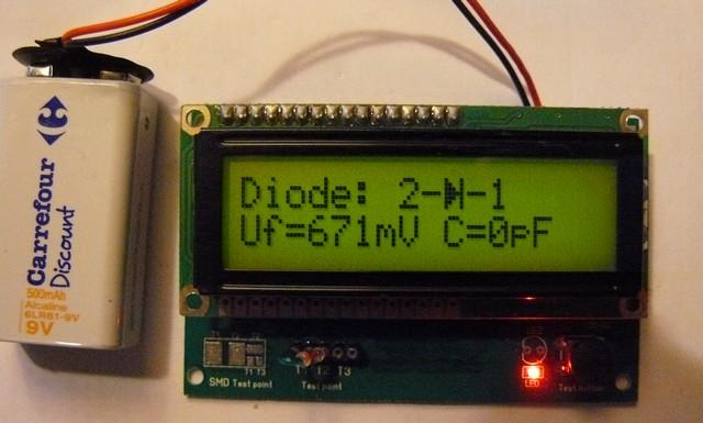 testeur et analyseur de semiconducteurs Diode_10