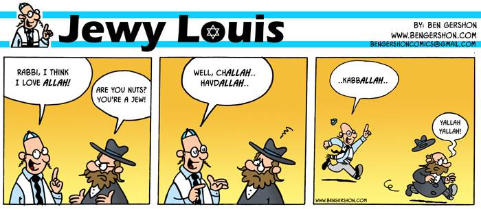Jewy Lois from Ben Gershon - English & Deutsch Yallah10