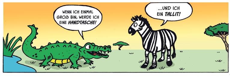 Jewy Lois from Ben Gershon - English & Deutsch Zebra10