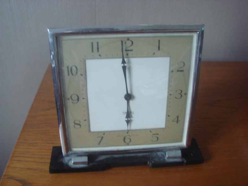 Smiths Clock...30's or 50's Barbad22