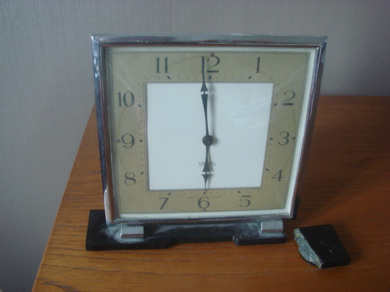 Smiths Clock...30's or 50's Barbad23