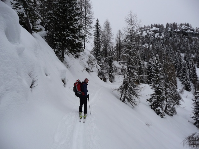 Raid invernale al bivacco Campilussi – Altopiano di Asiago P1080312