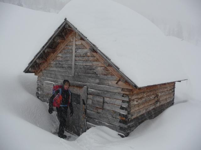 Raid invernale al bivacco Campilussi – Altopiano di Asiago P1080318