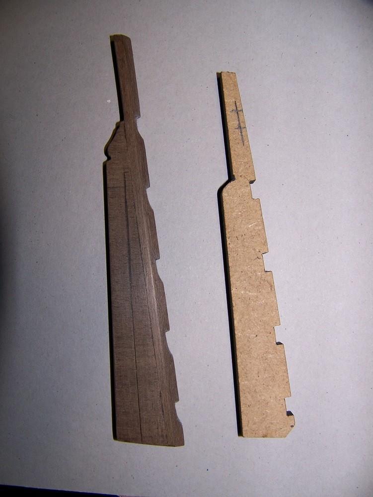 La Licorne ex-kit remaniée en scratch 1:72 fascicules Hachette - Page 30 100_1725