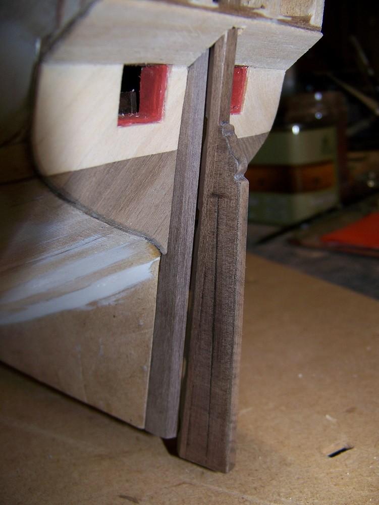 La Licorne ex-kit remaniée en scratch 1:72 fascicules Hachette - Page 30 100_1727