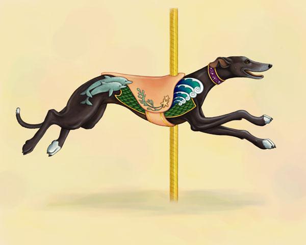 Art Greyhound  Blackc10