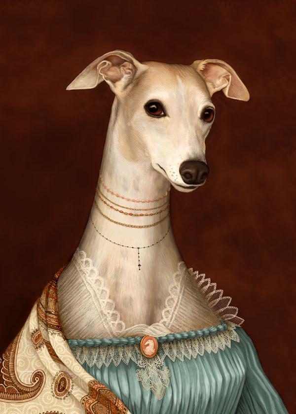 Art Greyhound  Etsy_l10