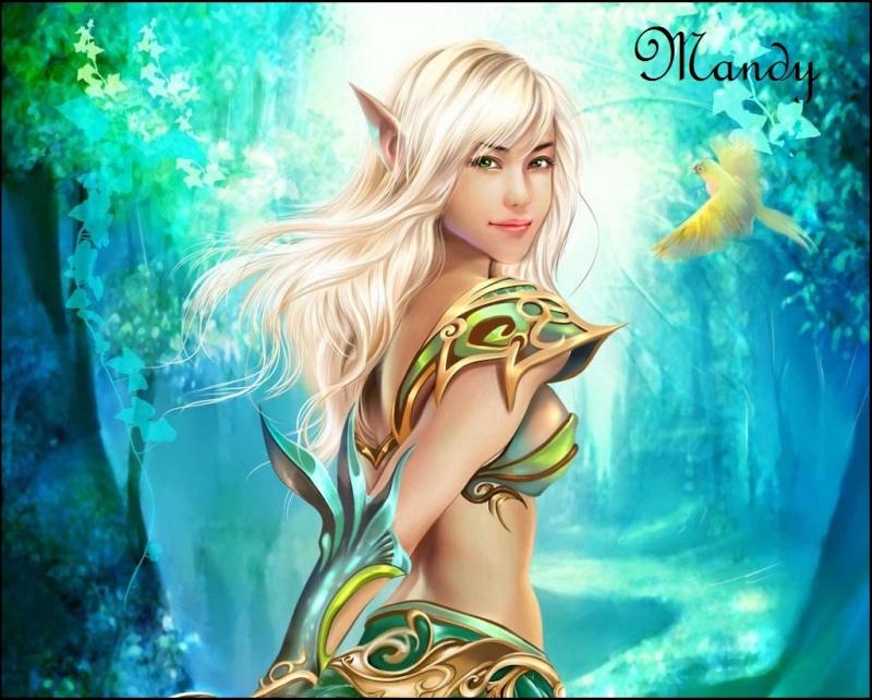 Avatars Créatures Fantastiques Elfe10