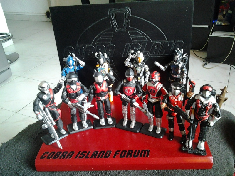 """COBRA ISLAND """"the  Hellbass exclusive set """" paint by muchunow  - Page 2 20130816"""