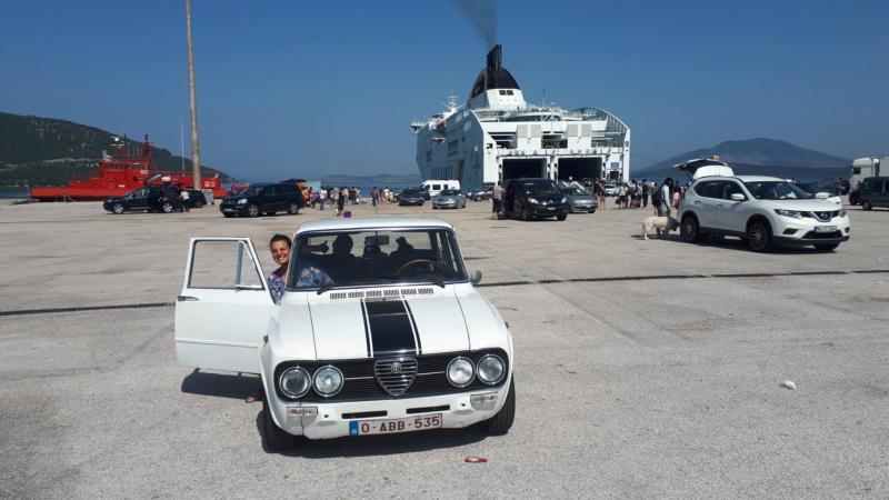 Voyage en Grèce avec ma Giulia  20180728