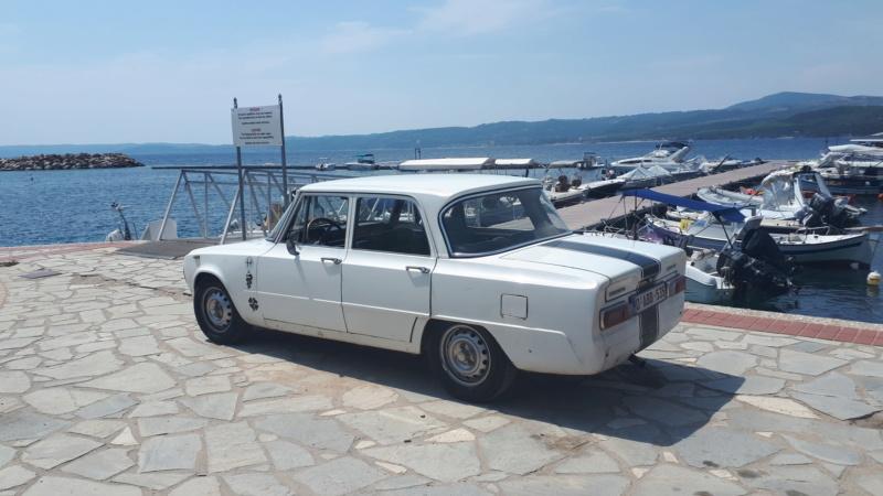 Voyage en Grèce avec ma Giulia  20180810