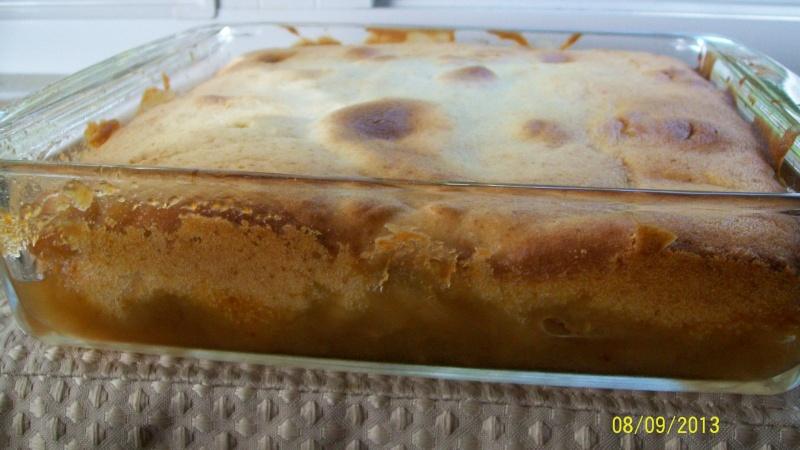 Gâteau pouding aux pommes à l'érable de Best 100_5018
