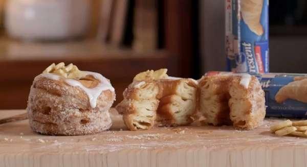 Croissant-beignet (cronuts) faciles Banana10