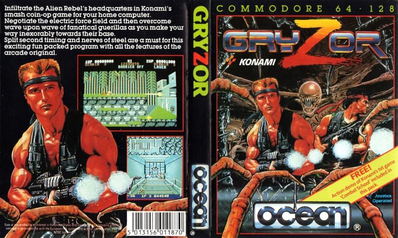 Les plus belles jaquettes du jeu vidéo - Page 2 Gryzor10