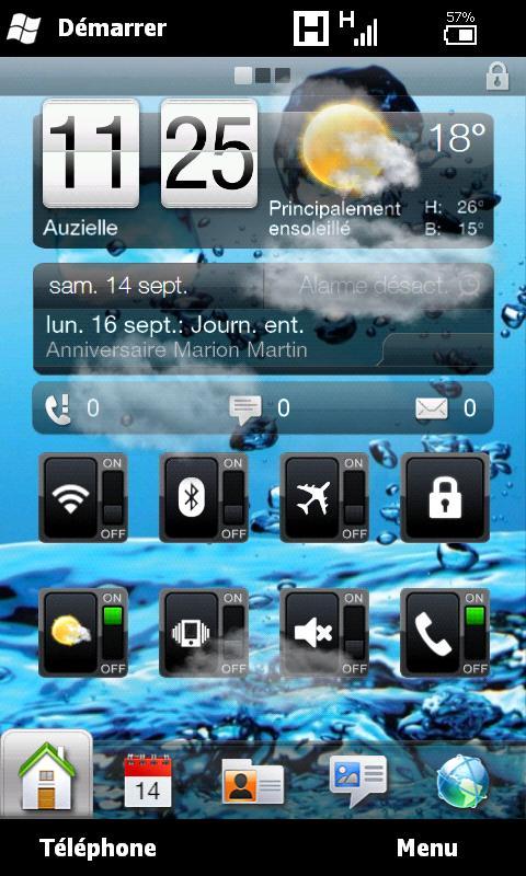 [RESOLU] Questions avant flash de mon HD2 vers Android Screen11