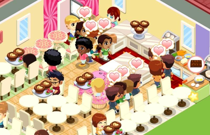 Petits jeux addictifs sur téléphone... Bakery10