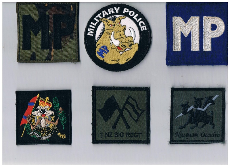 Brassards ,Rank slides and badges Patch_12