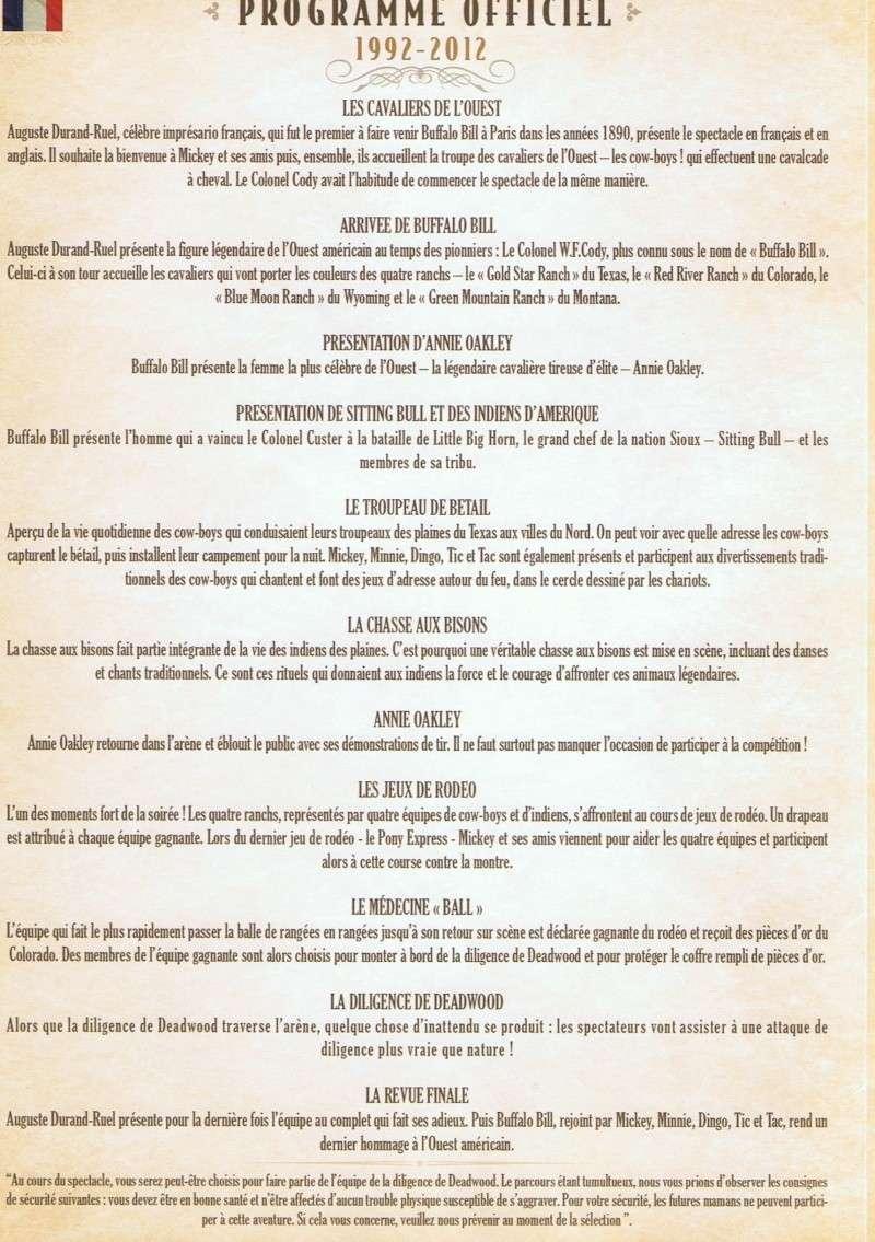 [Dîner-spectacle] La Légende de Buffalo Bill ... avec Mickey et ses amis ! - Page 2 Cci12011