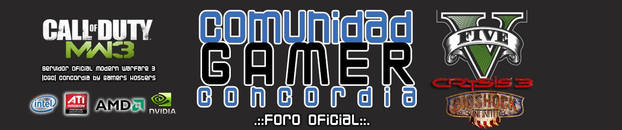 Comunidad Gamer Concordia