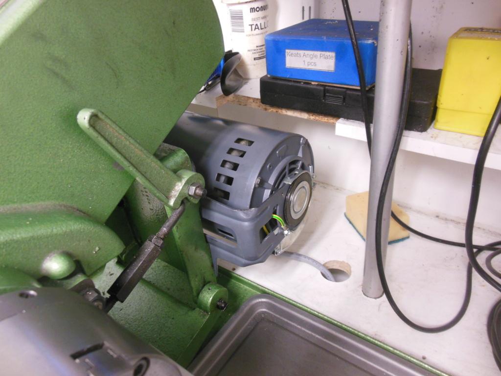 Engine rebuild - giving it the needle Lathe_12