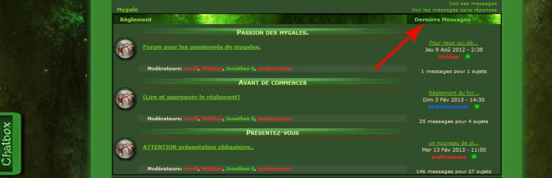 background Derniers Messages Sans-t14