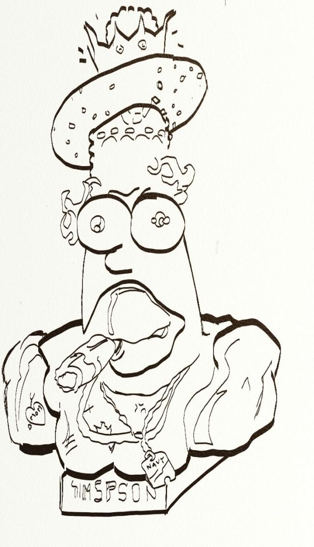 Croquis et autre - Page 4 Homer_11