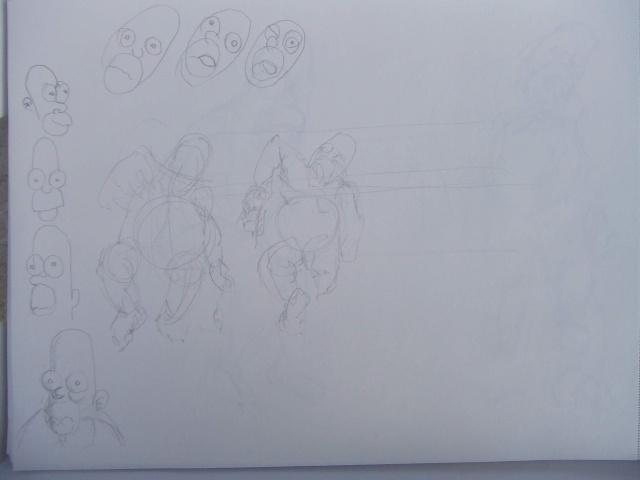 Croquis et autre - Page 5 Statue10
