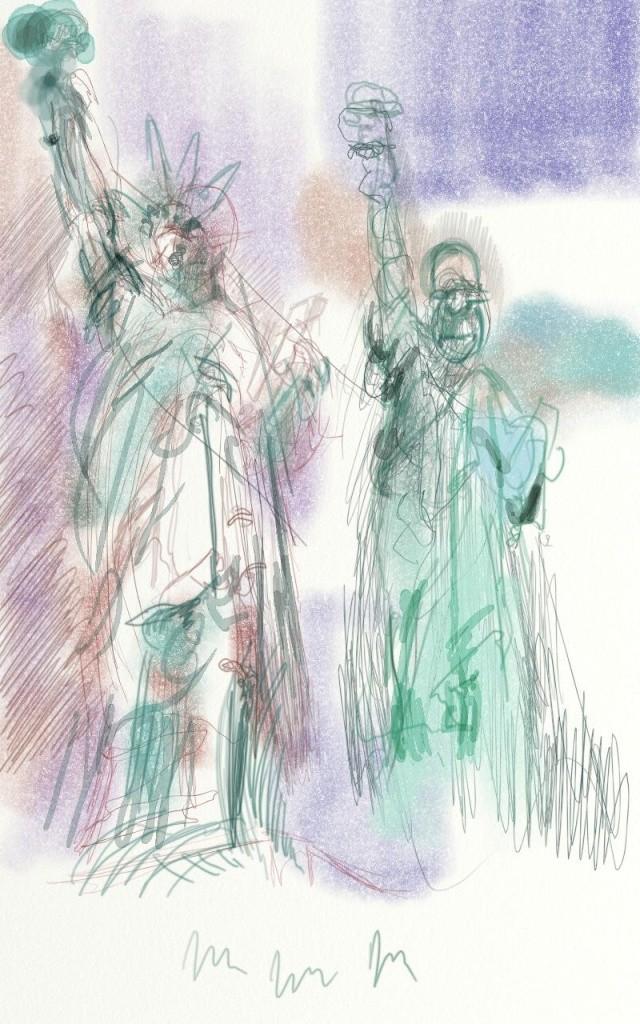 Croquis et autre - Page 5 Statue11