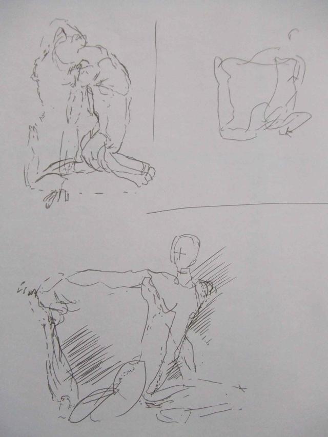 Croquis et autre - Page 5 Yoga_510