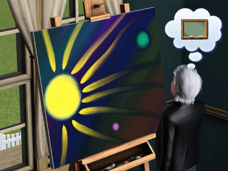 Brush Strokes - What's your Sim Painting? Scree143