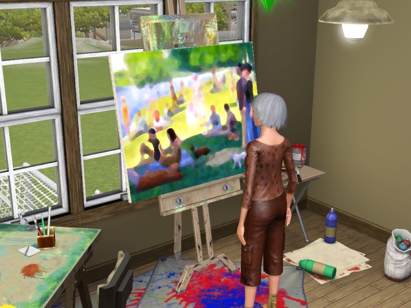 Brush Strokes - What's your Sim Painting? Scree144