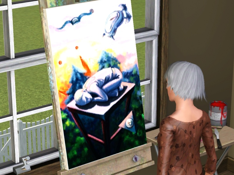 Brush Strokes - What's your Sim Painting? - Page 2 Scree153