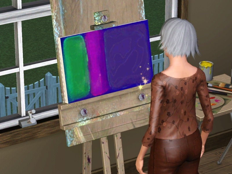 Brush Strokes - What's your Sim Painting? - Page 2 Scree154
