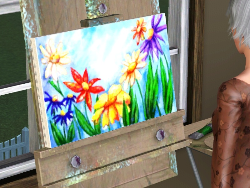 Brush Strokes - What's your Sim Painting? - Page 2 Scree158