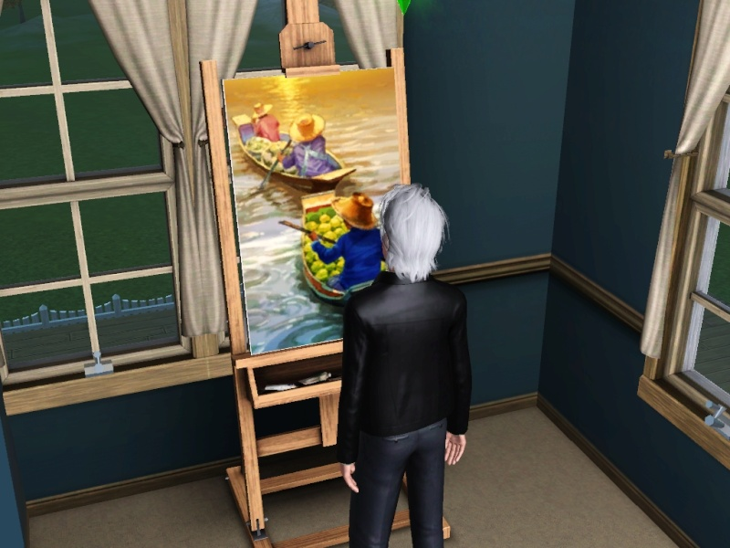 Brush Strokes - What's your Sim Painting? - Page 2 Scree159