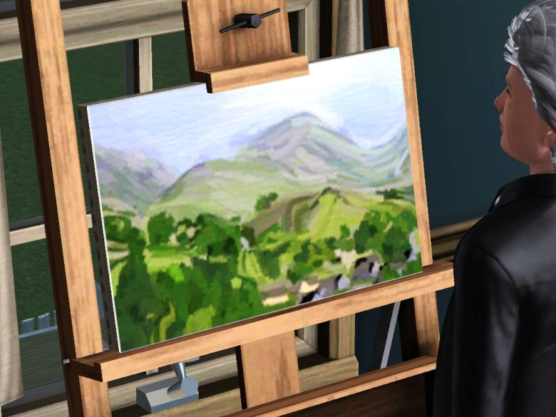 Brush Strokes - What's your Sim Painting? - Page 2 Scree161