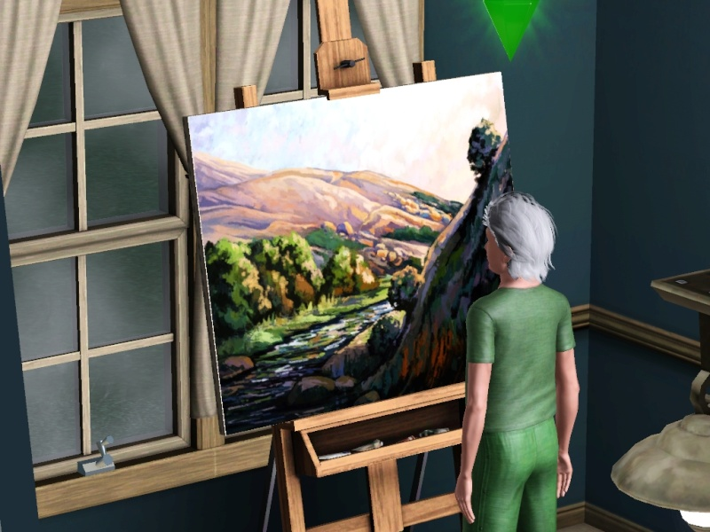 Brush Strokes - What's your Sim Painting? - Page 2 Scree165