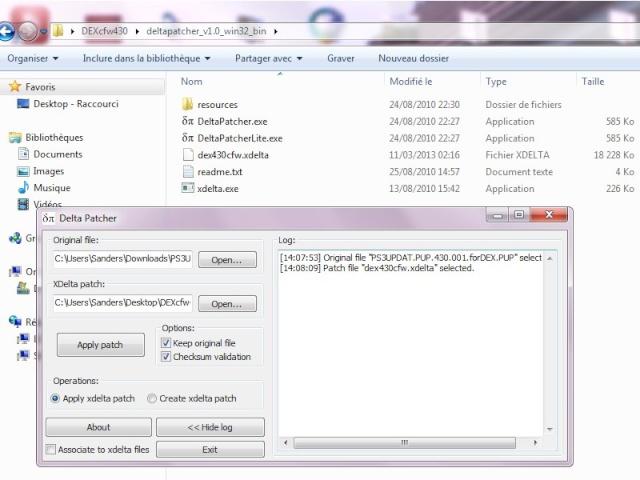 [PS3] Création d'un CFW 4.30 Dex Delta210