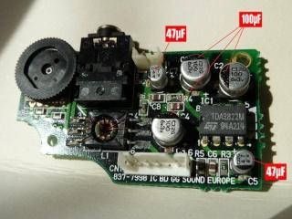 [Game Gear] Reparation des Condensateur HS P1030213