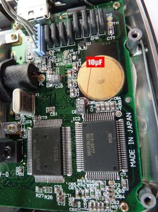 [Game Gear] Reparation des Condensateur HS P1030214