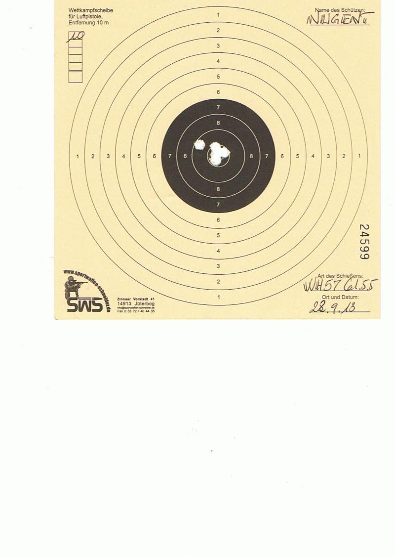 "Test Plombs DIANA ""Sport"" sur HW 57 Cal.5,5  7,5 Joules 10m11"