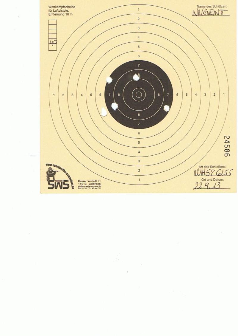 "Test Plombs DIANA ""Sport"" sur HW 57 Cal.5,5  7,5 Joules 40m10"